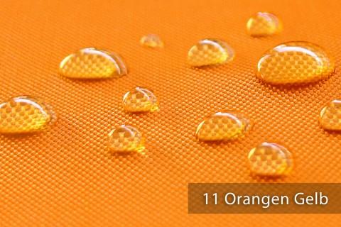 novely® OXFORD BIG Polyester 600D Stoff PVC Segeltuch Farbe 11 Orangen Gelb
