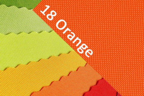 novely® OXFORD 600D Polyester Stoff PVC Segeltuch Farbe 18 Orange
