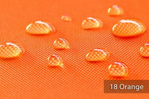 novely® OXFORD BIG Polyester 600D Stoff PVC Segeltuch Farbe 18 Orange