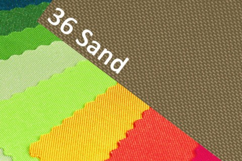 novely® B-WARE - OXFORD 600D Polyester Stoff PVC Segeltuch Farbe 36 Sand