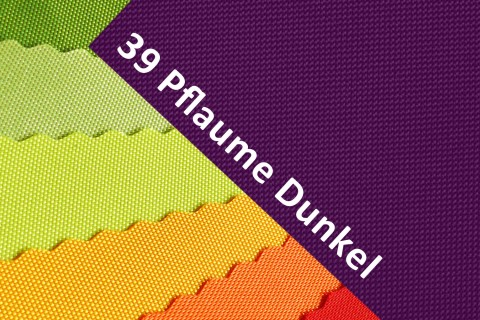 novely® OXFORD 600D Polyester Stoff PVC Segeltuch Farbe 39 Pflaume Dunkel