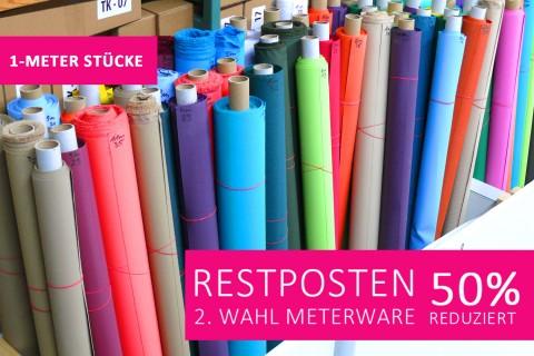 novely® Restposten | 2. Wahl | B-WARE | OXFORD 210D Polyester NICHT PVC-beschichtet | 1 METER - STÜCK
