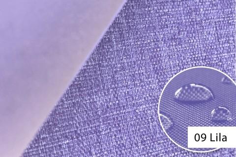 novely® OXFORD 660D Mélange Polyester Stoff PVC wasserdicht | Farbe 09 Lila