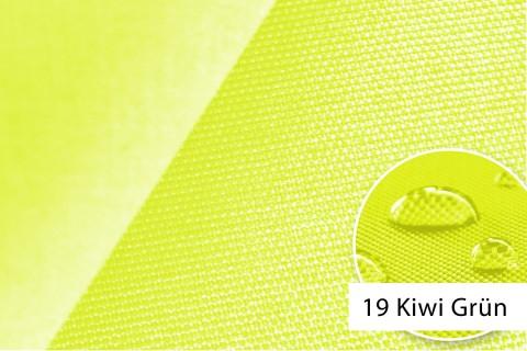 novely® OXFORD 660D Mélange Polyester Stoff PVC wasserdicht | Farbe 19 Kiwi Grün