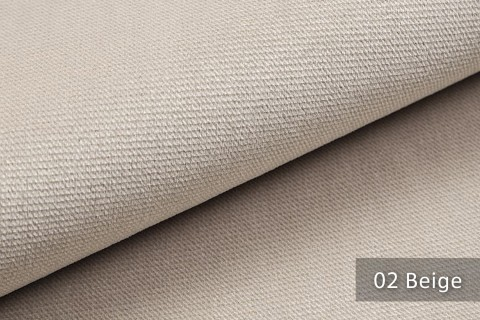 novely® PASSAU | samtig weicher Chenille Möbelstoff | Farbe 02 Beige