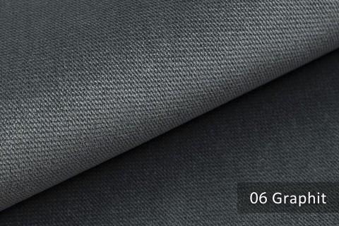 novely® PASSAU | samtig weicher Chenille Möbelstoff | Farbe 06 Graphit