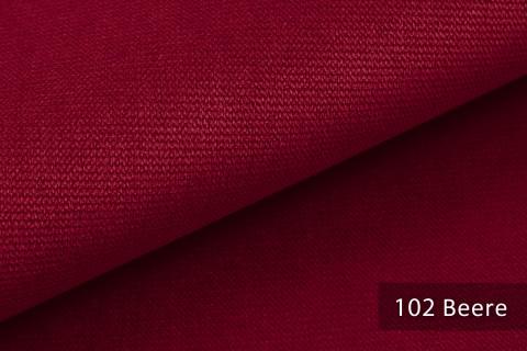 novely® PASSAU | samtig weicher Chenille Möbelstoff | Farbe 102 Beere