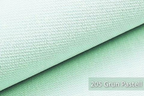 novely® PASSAU | samtig weicher Chenille Möbelstoff | Farbe 205 Hellgrün Pastell