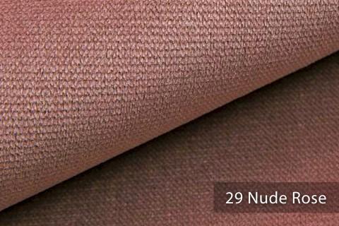 novely® PASSAU   samtig weicher Chenille Möbelstoff   Farbe 29 Nude Rose