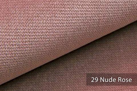 novely® PASSAU | samtig weicher Chenille Möbelstoff | Farbe 29 Nude Rose