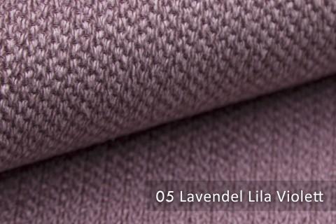 novely® PIROW weicher und zeitloser Polsterstoff | Möbelstoff – feine Textur | 05 Lavendel Lila Violett