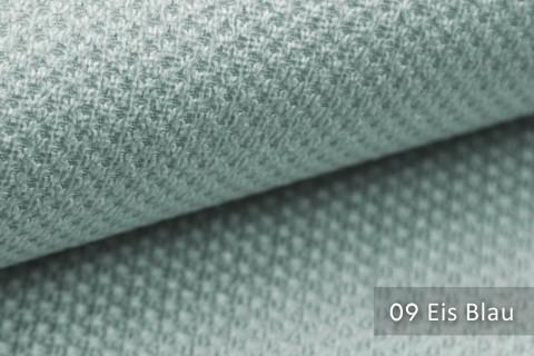 novely® PIROW weicher und zeitloser Polsterstoff | Möbelstoff – feine Textur | 09 Eis Blau