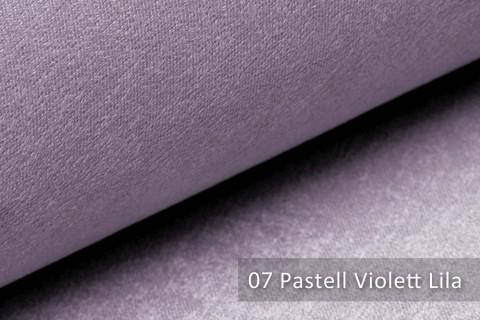 novely® PLATIN - eleganter, glänzender Möbelstoff ULTRA-CLEAN | Farbe 07 Pastell Violett Lila