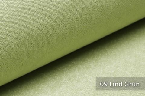 novely® PLATIN - eleganter, glänzender Möbelstoff ULTRA-CLEAN | Farbe 09 Lind Grün