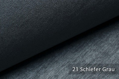 novely® PLATIN - eleganter, glänzender Möbelstoff ULTRA-CLEAN | Farbe 21 Schiefer Grau