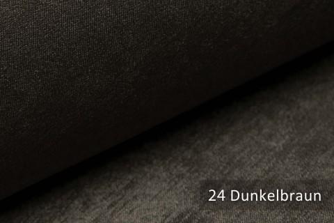 novely® PLATIN - eleganter, glänzender Möbelstoff ULTRA-CLEAN | Farbe 24 Dunkelbraun