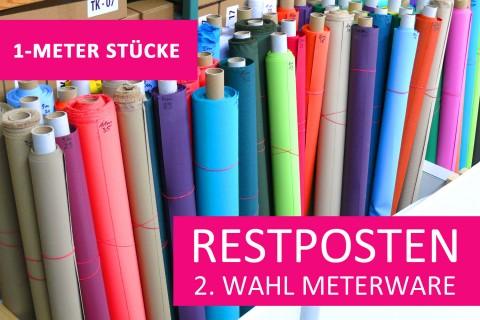 novely® Restposten | 2. Wahl | B-WARE | OXFORD 600D Polyester Stoff PVC Segeltuch | 1 METER - STÜCK