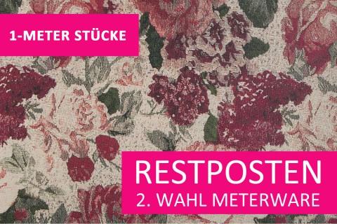 novely® Restposten   2. Wahl   B-WARE   HANAU ASTRID Polsterstoff gemustert   Polsterstoff   1 METER - STÜCK