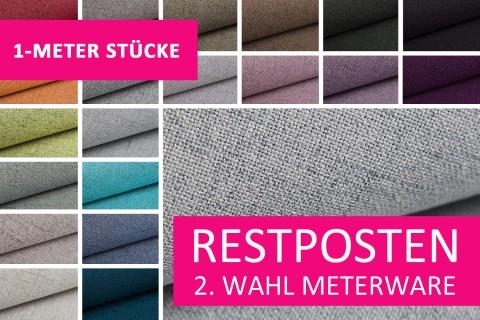 novely® Restposten | 2. Wahl | B-WARE | AUEN Webstoff | Polsterstoff | 1 METER - STÜCK