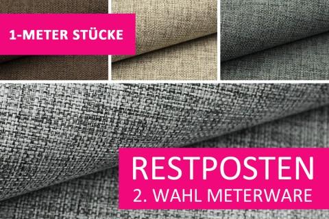 novely® Restposten | 2. Wahl | B-WARE | MIROW Webstoff | Polsterstoff | 1 METER - STÜCK