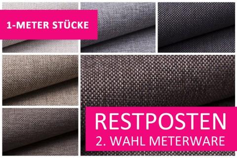 novely® Restposten | 2. Wahl | B-WARE | MUDAU Möbelstoff | Polsterstoff | 1 METER - STÜCK