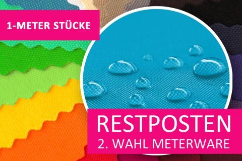 novely® Restposten | 2. Wahl | B-WARE | SUNSET 420D Polyester PU-beschichtet | 1 METER - STÜCK