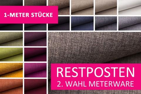 novely® Restposten | 2. Wahl | B-WARE | LUSO Webstoff | Polsterbezugsstoff | 1 METER - STÜCK