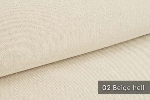 novely® exquisit REVELLO – klassischer, samtweicher und leichter Möbelstoff mit Baumwollanteil | 02 Beige hell
