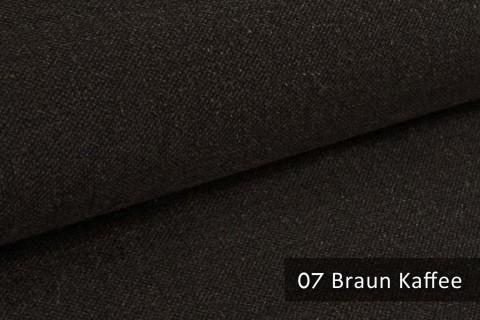 novely® exquisit REVELLO – klassischer, samtweicher und leichter Möbelstoff mit Baumwollanteil | 07 Braun Kaffee