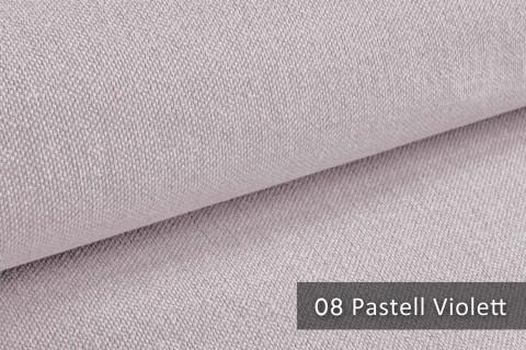 novely® exquisit REVELLO – klassischer, samtweicher und leichter Möbelstoff mit Baumwollanteil |  08 Pastell Violett