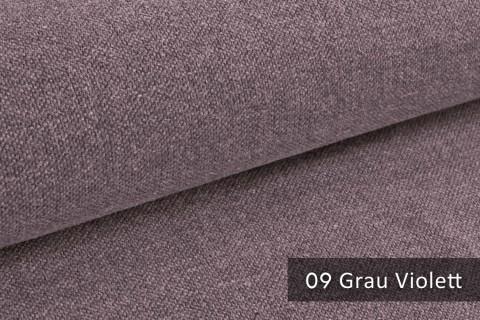 novely® exquisit REVELLO – klassischer, samtweicher und leichter Möbelstoff mit Baumwollanteil |  09 Grau Violett