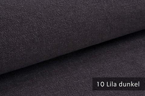 novely® exquisit REVELLO – klassischer, samtweicher und leichter Möbelstoff mit Baumwollanteil |  10 Lila dunkel