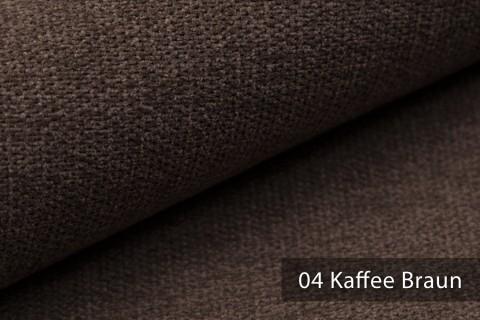 novely® RICKERT - weicher und zeitloser Polsterstoff, Velours mit feiner Textur | Farbe 04 Kaffee Braun