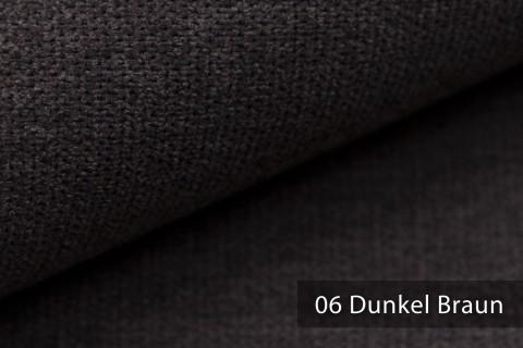 novely® RICKERT - weicher und zeitloser Polsterstoff, Velours mit feiner Textur | Farbe 06 Dunkel Braun