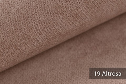novely® RICKERT - weicher und zeitloser Polsterstoff, Velours mit feiner Textur | Farbe 19 Altrosa