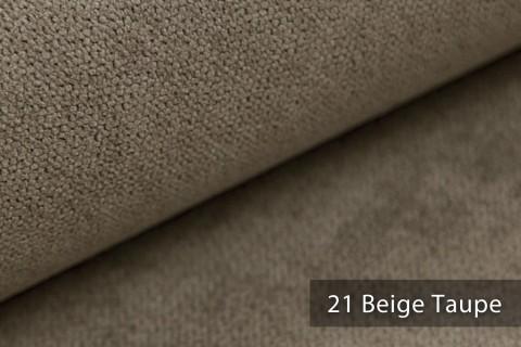 novely® RICKERT - weicher und zeitloser Polsterstoff, Velours mit feiner Textur | Farbe 21 Beige Taupe