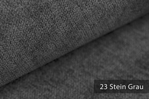 novely® RICKERT - weicher und zeitloser Polsterstoff, Velours mit feiner Textur | Farbe 23 Stein Grau