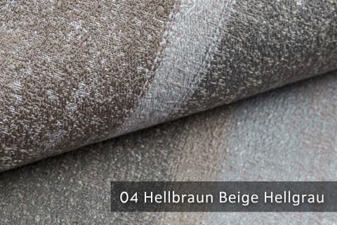 novely® exquisit RIMINI – prunkvoller und eleganter Möbelstoff  | 04 Hellbraun Beige Hellgrau