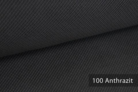 novely® SAVERO | 1 lfm | Velours Polsterstoff | 3D Wabenmuster | Möbelstoff Fein Modern Weich | 100 Anthrazit