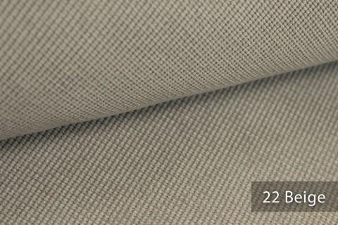 novely® SAVERO | 1 lfm | Velours Polsterstoff | 3D Wabenmuster | Möbelstoff Fein Modern Weich | 22 Beige
