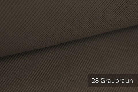novely® SAVERO | 1 lfm | Velours Polsterstoff | 3D Wabenmuster | Möbelstoff Fein Modern Weich | 28 Graubraun