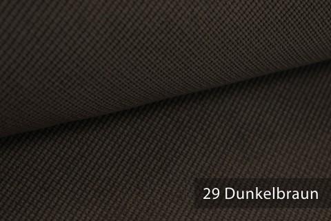 novely® SAVERO | 1 lfm | Velours Polsterstoff | 3D Wabenmuster | Möbelstoff Fein Modern Weich | 29 Dunkelbraun