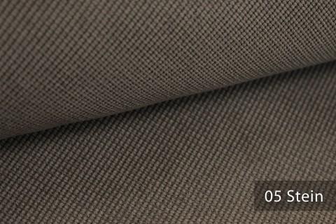 novely® SAVERO | 1 lfm | Velours Polsterstoff | 3D Wabenmuster | Möbelstoff Fein Modern Weich | 05 Stein