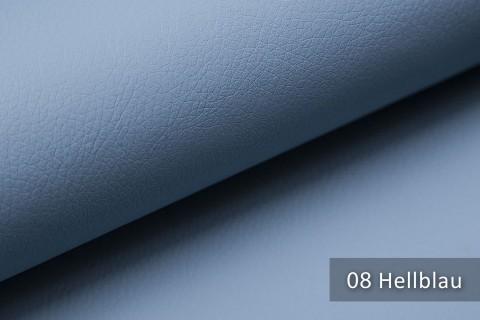 novely® SOLTAU – weiches Kunstleder mit feiner Narbung | Farbe 08 Hellblau