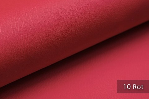 novely® SOLTAU – weiches Kunstleder in Echtleder-Optik | Farbe 10 Rot