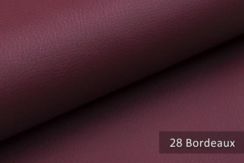 novely® SOLTAU – weiches Kunstleder in Echtleder-Optik | Farbe 28 Bordeaux