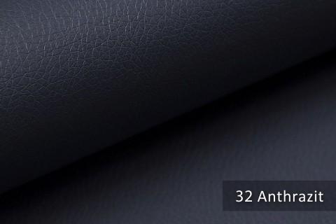 novely® SOLTAU – weiches Kunstleder in Echtleder-Optik | Farbe 32 Anthrazit