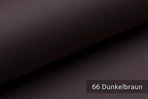 novely® SOLTAU – weiches Kunstleder in Echtleder-Optik | Farbe 66 Dunkelbraun
