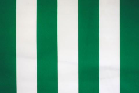 novely® SUNRISE 420D Polyester Stoff | UV-beständig | Farbe W-17 Weiß-Grün
