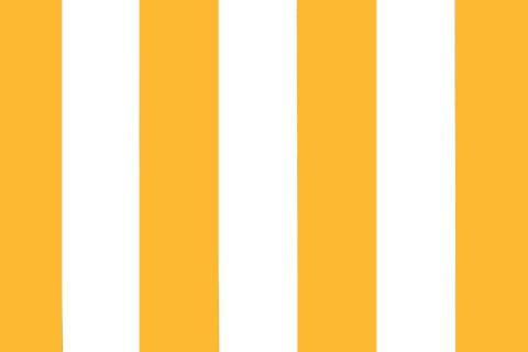 novely® SUNRISE 420D Polyester Stoff | UV-beständig | Farbe W-33 Weiß-Gelb